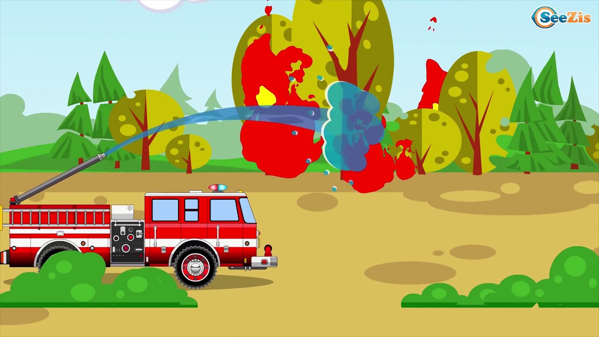 Truck Vs Construction Trucks – Trucks For Children – Kids Cartoon