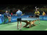 Table Tennis   SWE v POL   Men's Singles - Qualification SM3 - SM8   Rio 2016 Paralympic Games