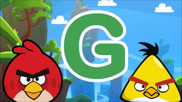 Angry Birds Alphabet Song - Angry Birds ABC Song - Angry Birds Phonics Song - Angry Birds Theme Song