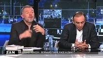 """Bernard Tapie à Eric Zemmour: """"Fais attention, je vais me lever et je vais t'en mettre une !"""""""