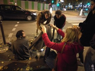 Jamvif : Maraude Humanitaire du 14 Décembre à Paris - Part II
