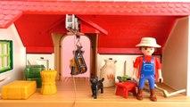 Playmobil boerderij Nederlands – Derde demo van de grote boerderij 6120 met boer Dirk