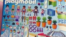 Playmobil Shopping Center Unboxing – Gigantesque boîte de jeu Playmobil avec plus de 500 pièces!