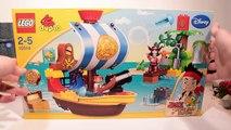 Disney Peter Pan & bateau pirate lego de Capitaine Crochet | Peter Pan dessin animé en français