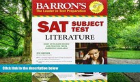 Pre Order Barron s SAT Subject Test: Literature with CD-ROM, 5th Edition (Barron s SAT Subject