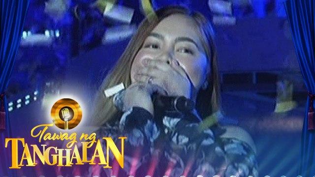 Tawag ng Tanghalan: Arah May Robosa steals the golden microphone from Almae Castillo