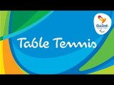 Rio 2016 Paralympic Games   Table Tennis Day 9   LIVE