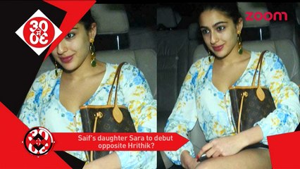 Saif's Daughter May Debut Opposite Hrithik, Aamir Khan Claims His Tears Are Real