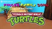 Teenage Mutant Ninja Turtles Stopmotion Finger Family Song!