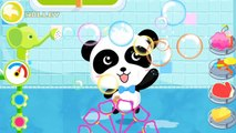 Baby Pandas Bath Time - Play & Learn with Cute Animals, Bath Toys, Bubbles - BabyBus Games For Kids