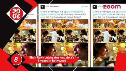 Anushka Sharma Completes 8 Years In Bollywood, 'Ok Jaanu' Makers Intensify Promotions