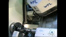 HYPNOTIC Video of Extreme Lathe Machine Tool   WFL M60 CNC Industrial Machine
