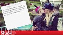 Hilary Duff wird dafür kritisiert ihren Sohn auf den Mund geküsst zu haben