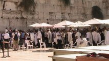 Wailing Wall, the Western Wall in the Old City of Jerusalem - Israel Tour
