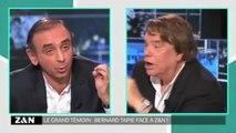 """Bernard Tapie à Eric Zemmour : """"Je vais t'en mettre une"""""""