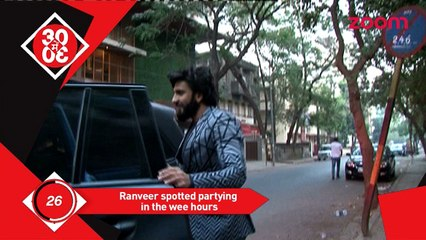 Ranveer Singh Spotted After A House Party, Katrina Sizzles In A Bridal Attire