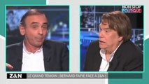 """Bernard Tapie menace Éric Zemmour de lui """"en coller une"""""""