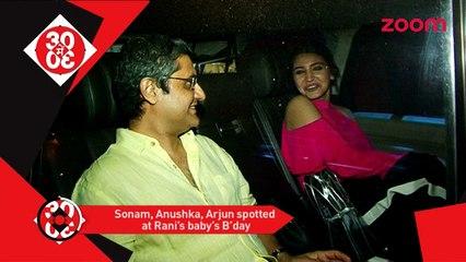Aditya Chopra & Rani Celebrate Adira's 1st Birthday, Shahid & Deepika Wont Kiss In Padmavati