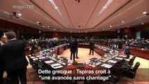 """Dette grecque: Tsipras croit """"à une avancée sans chantage"""""""