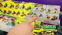 Teenage Mutant Ninja Turtles T-Machines TMNT Michael Angelo Ninja Turtles Revenge Track vs McQueen