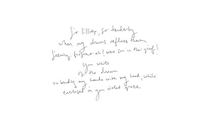 Julia Holter - So Lillies (Official Audio)