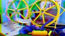 Barbie Kids Ferris Wheel Playmobil Amusement Park Swings & Carnival Rides Frozen Kids Kelly Dolls