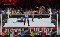 WWE RAW 15 | Randy orton vs CM punk brock lesnar undertaker roman reigns