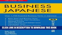 [PDF] Business Japanese: Over 1,700 Essential Business Terms in Japanese (Tuttle Language Library)