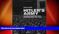 Online David Stone Hitler s Army: The Men, Machines, and Organization: 1939-1945 Full Book Download