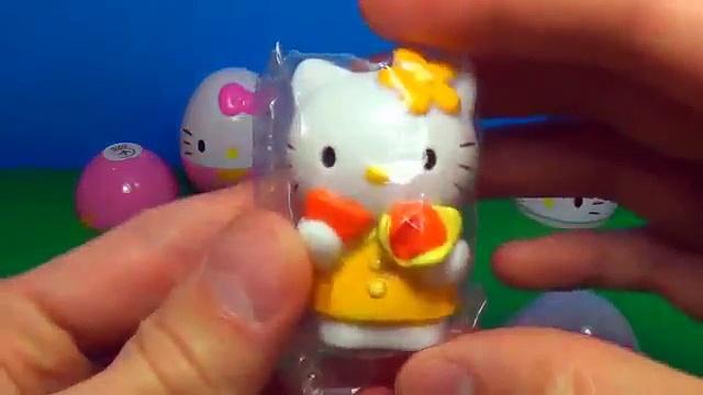 3 Hello Kitty surprise eggs HELLO KITTY HELLO KITTY HELLO KITTY 킨더 서프라이즈