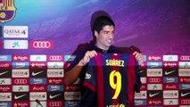 Luis Suárez renueva su contrato con el Barcelona hasta 2021