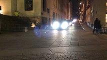 Manifestation des chauffeurs VTC dans les rues de Nantes
