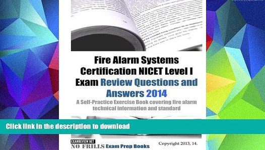 Pre Order Fire Alarm Systems Certification Nicet Level I Exam Review Questions And Answers 2014 Video Dailymotion
