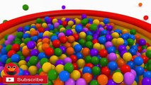 LEARN ABC AND Learn Count Numbers 3D Surprise Eggs Eggs Surprise 3D Color Ball Show for Kids