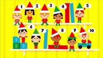 10 Little Elves Song for Children | Elf on the Shelf Song | Christmas Song for Kids | The Kiboomers