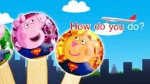 Peppa Pig Superman Lollipop Finger Family Nursery Rhymes Lyrics and More