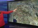 Rain moving into Valley over next few days