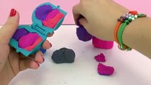 Mixing Kinetic Sand | Make a colorful Birthday cake from magic sand! |DIY Cupcakes and cake