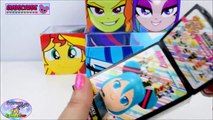 My Little Pony Equestria Girls Surprise Cubeez Cubes Dazzlings Surprise Egg and Toy Collector SETC