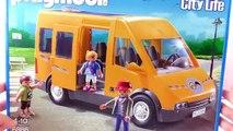 Playmobil Schoolbus met scholieren 6866 unboxing | Op naar school met de gele bus van Playmobil