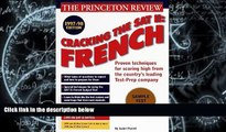 Best Price Cracking the SAT Il: French Subject Tests, 1998 ED (Annual) John Katzman For Kindle