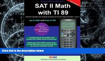 Price SAT II Math with Ti 89: SAT Math Subject Test Math Level 1 and Level 2 with Ti 89 Rusen