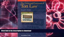 Pre Order The Forms and Functions of Tort Law (Concepts   Insights)