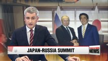 Japan, Russia discuss cooperation related on disputed islands