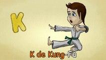 Alfabeto para crianças - K-Canção - O Alfabeto em português - canções infantis   Portuguese K-Song