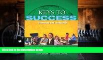 Pre Order Keys to Success: Teamwork and Leadership (Keys Franchise) Carol J. Carter On CD