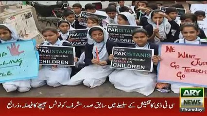Iqrar ul Hassan And Waseem Badami Pay Tribute to APS martyrs