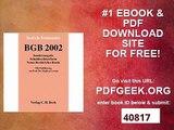 BGB 2002. Schuldrechtsreform. Neues Recht - Altes Recht