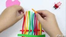 Paly Doh (cake rainbow | Hamburger Burger | ICE CREAM FROZEN | Minions Cream | Lollipop)
