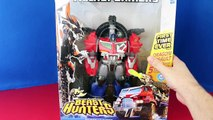 Transformers Beast Hunters Optimus Prime Robot Morphs into Diesel Truck Superhero by ToysReviewToys